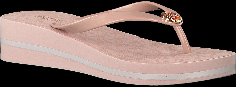 Roze MICHAEL KORS Slippers BEDFORD FLIP FLOP Omoda