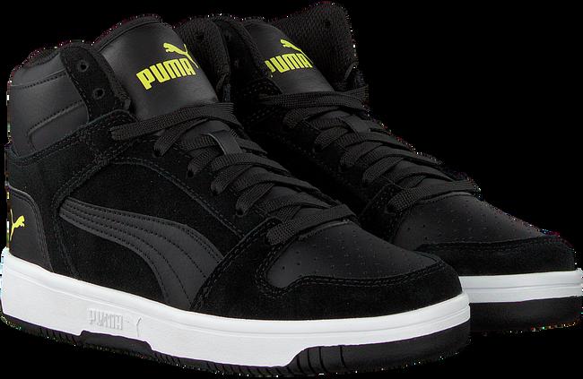 Zwarte PUMA Sneakers REBOUND LAYUP SD JR  - large