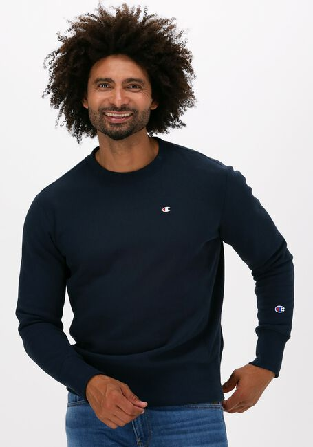 Donkerblauwe CHAMPION Sweater REVERSE WEAVE SWEATSHIRT - large