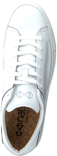 Witte NAT-2 Lage sneakers SLEEK LOW  - large
