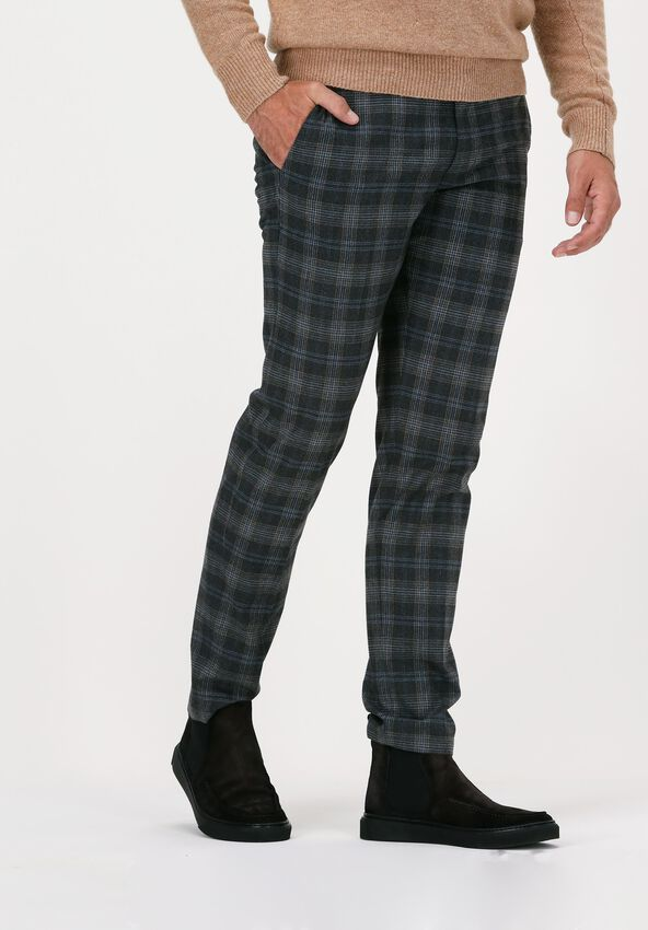 Grijze DRYKORN Pantalon SIGHT 146279  - larger