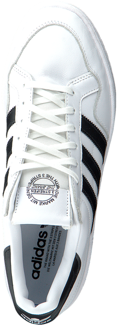 Witte ADIDAS Lage sneakers TEAM COURT M  - large