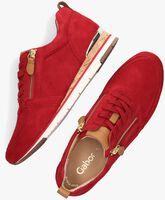 Rode GABOR Lage sneakers 431  - medium