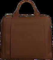 Cognac MYOMY Laptoptas MY LOCKER BAG BUSINESS  - medium