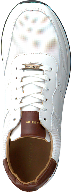 Witte MAZZELTOV Lage sneakers 20-9928  - large