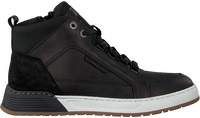Zwarte OMODA Hoge sneaker A0F500E6L_BLCKOM  - medium