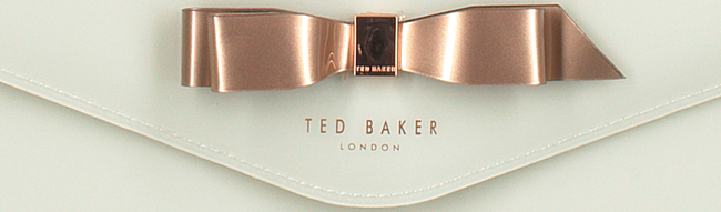 Witte TED BAKER Clutch CERSEI  - large