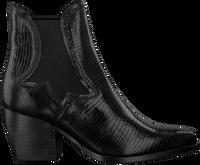 Zwarte VERTON Enkellaarsjes 667-003  - medium