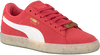 Roze PUMA Sneakers SUEDE CLASSIC BBOY DAMES  - small