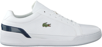 Witte LACOSTE Lage sneakers CHALLENGE 220 - medium