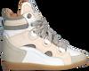 Beige LEMARÉ Hoge sneaker 2553  - small