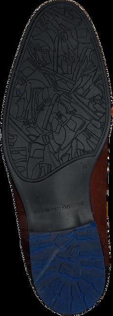 Cognac FLORIS VAN BOMMEL Veterschoenen 10947 - large