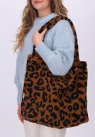 Bruine STUDIO NOOS Shopper TEDDY LEOPARD MOM-BAG  - medium