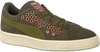 Groene PUMA Sneakers SUEDE XL LACE VR  - small