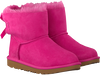 Roze UGG Enkelboots MINI BAILEY BOW II KIDS - small