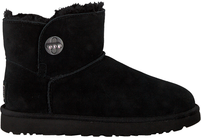 Zwarte UGG Vachtlaarzen MINI TURNLOCK BLING - large