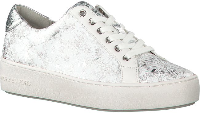 Witte MICHAEL KORS Sneakers POPPY LACE UP - large