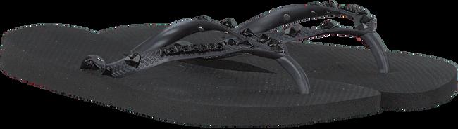 Zwarte HAVAIANAS Slippers SLIM HARDWARE  - large