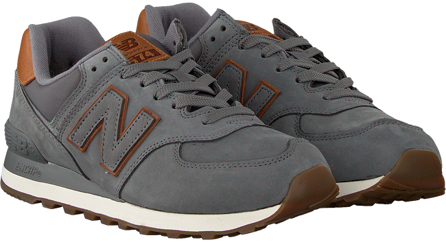 Grijze NEW BALANCE Sneakers 738041-60  - large