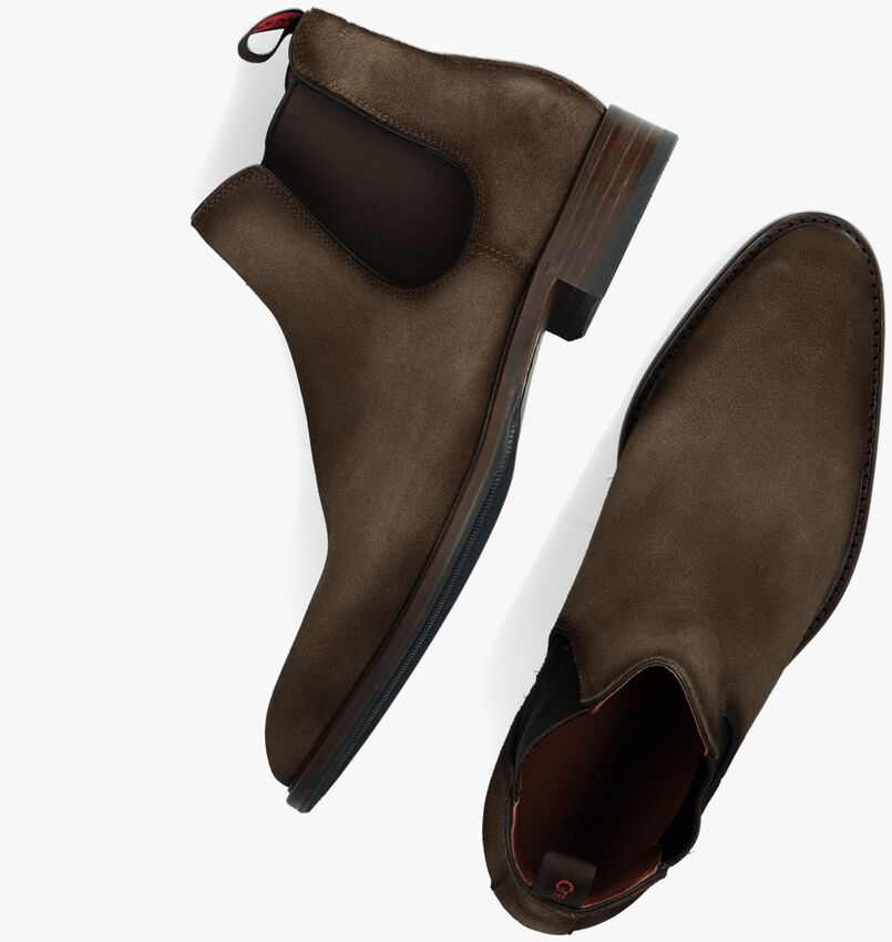 Bruine GREVE Chelsea boots PIAVE 4757  - larger