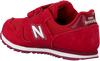 Rode NEW BALANCE Lage sneakers YV373/IV373  - small