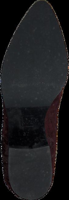 Rode VIA VAI Enkellaarsjes 5101033 DFH1ax0z