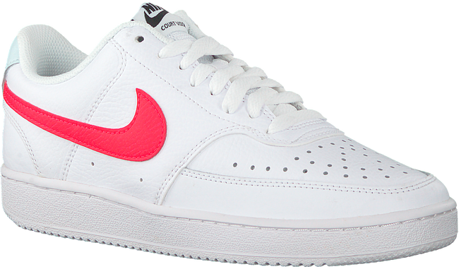 Witte NIKE Lage sneakers COURT VISION LOW WMNS  - large