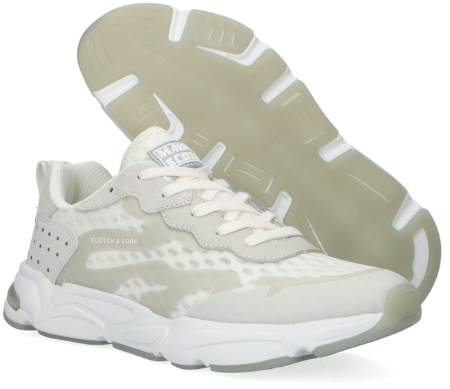 Witte SCOTCH & SODA Lage sneakers LOU  - large