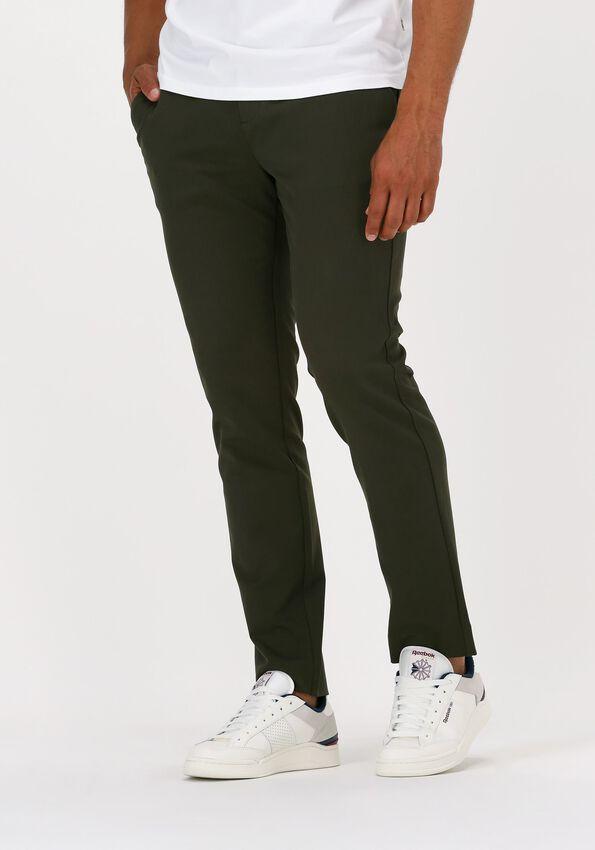 Donkergroene PLAIN Pantalon JOSH 315  - larger