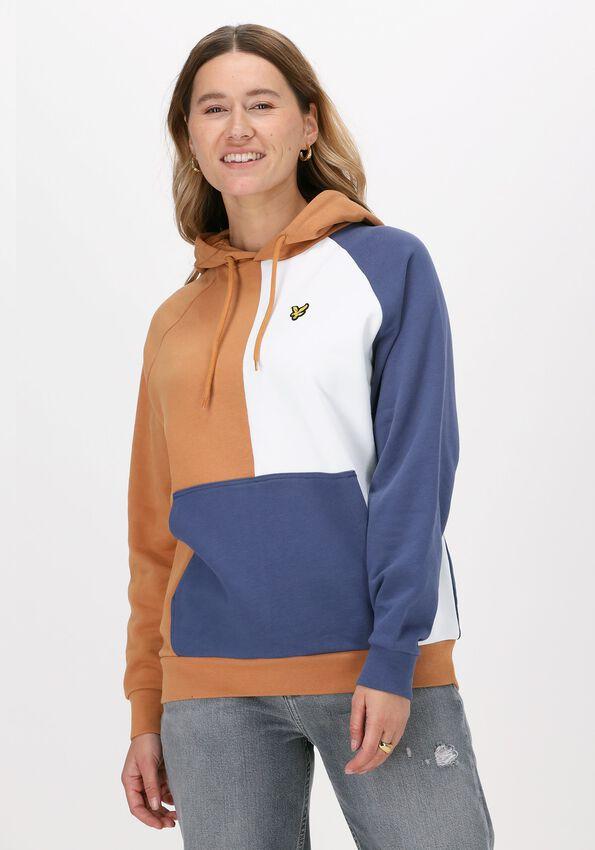 Multi LYLE & SCOTT Sweater PATCHWORK HOODIE  - larger