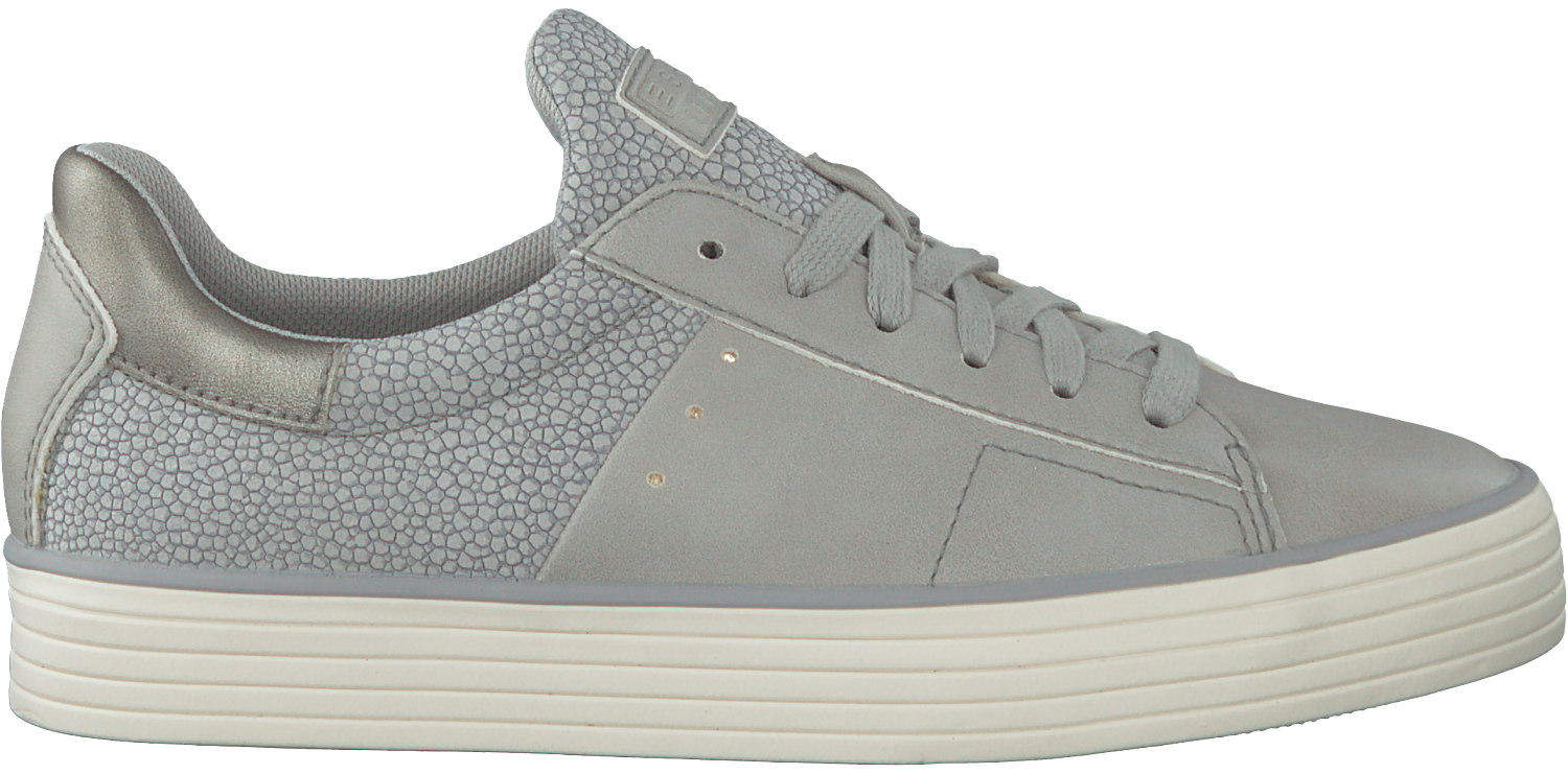 Next LACE large Grijze Sneakers ESPRIT SITA UP FqwFfYRt