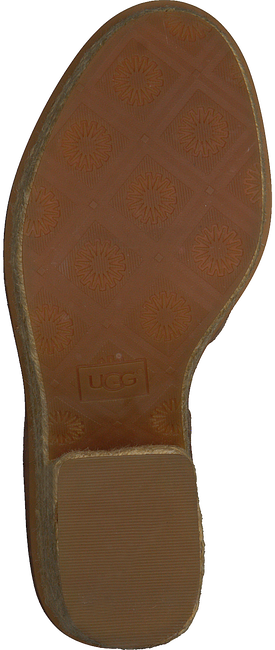 Bruine UGG Sandalen CARINE  - large