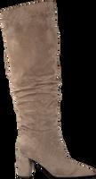 Taupe JANET & JANET Overknee laarzen 46403  - medium