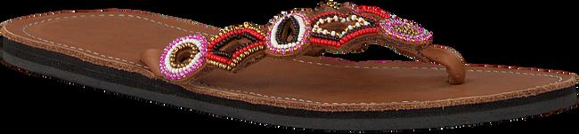 Cognac OMODA KUBUNI Slippers SLIPPER FANTASY - large