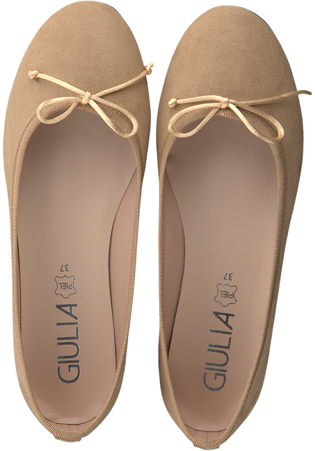 Beige GIULIA Ballerina's G.12.BALLERINA  - large