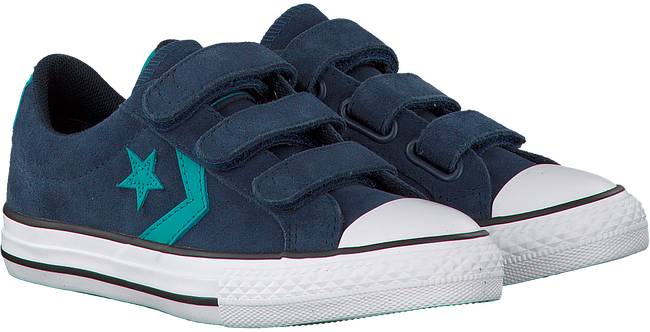 Blauwe CONVERSE Sneakers STAR PLAYER 3V OX KIDS  - large