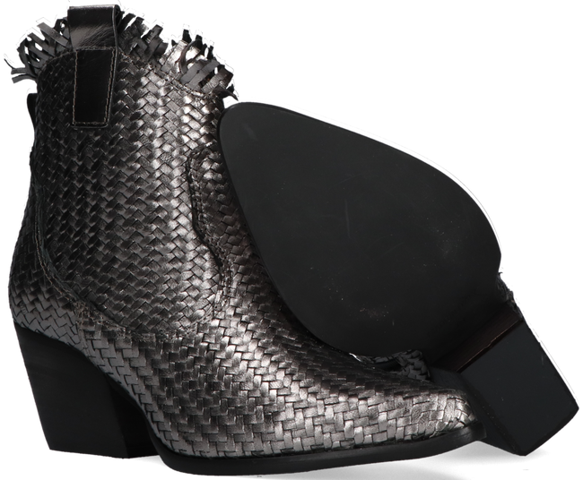 Zilveren NOTRE-V Enkellaarsjes AH373  - large