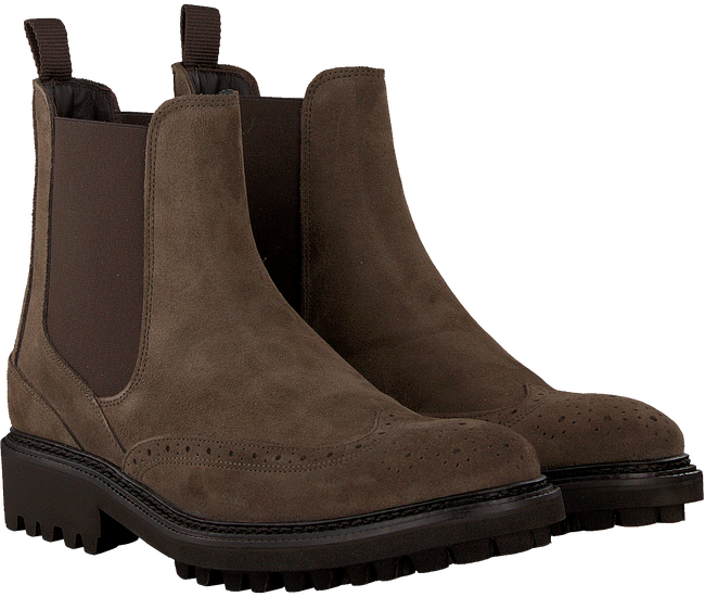 Taupe MAZZELTOV Chelsea boots 10450  - large