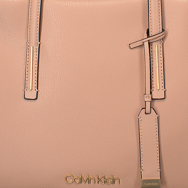 Roze CALVIN KLEIN Schoudertas FRAME MEDIUM SHOPPER - large