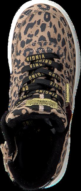 Bruine VINGINO Sneakers LOTTE MID eT0Svu16