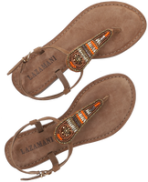 Taupe LAZAMANI Slippers 75.774  - medium
