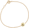 ALLTHELUCKINTHEWORLD ARMBAND CHARACTER BRACELET LETTER GOLD - small