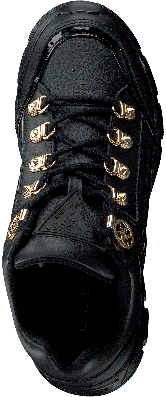 Zwarte GUESS Sneakers SIKE3 Omoda.nl