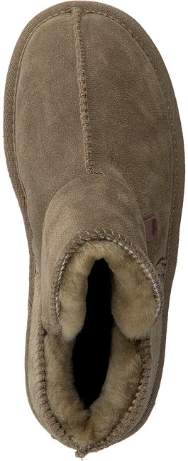 Groene WARMBAT Pantoffels WILLOW WOMEN SUEDE - large