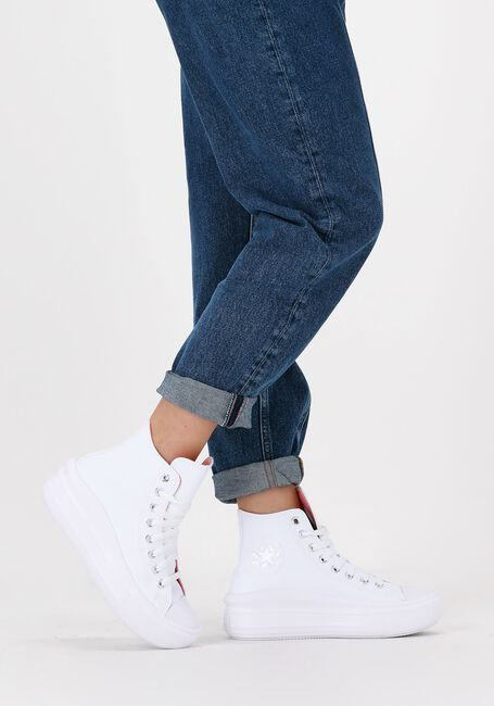 Witte CONVERSE Hoge sneaker CHUCK TAYLOR ALL STAR MOVE  - large