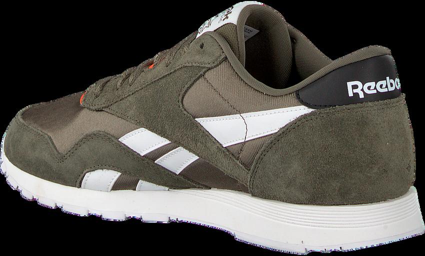 Groene REEBOK Sneakers CL NYLON MU  - larger