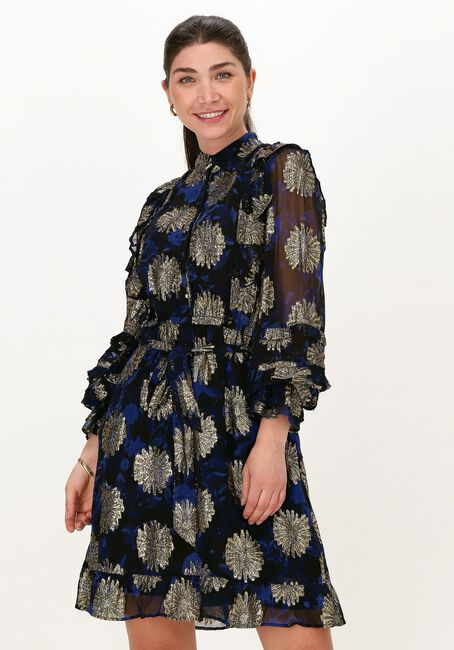 Zwarte FABIENNE CHAPOT Mini jurk LEONIE FESTIVE DRESS - large