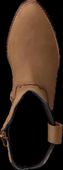 Cognac CLIC! Hoge laarzen 7102 - large