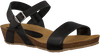 Zwarte RED RAG Sandalen 79198  - small