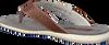 Cognac FLORIS VAN BOMMEL Slippers 20022 - small